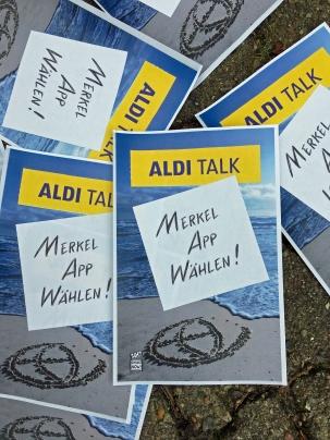 Aldi Talk- Am 24.09 ist Budestagswahl